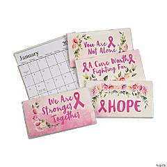 2022 - 2023 Pink Ribbon Pocket Calendars