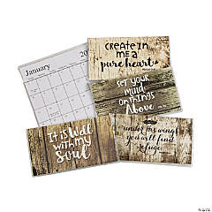 2022 - 2023 Rustic Faith Pocket Calendars