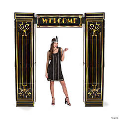 20s Art Deco Arch with Columns