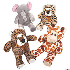 "22"" Stuffed Jungle Animals"
