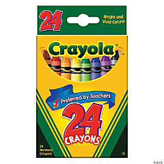 24-Color Crayola® Crayons