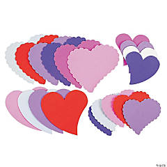 24 Fabulous Foam Jumbo Hearts