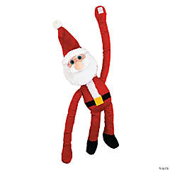 "24"" Large Long Arm Plush Santa"