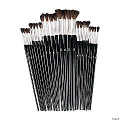 24 Pc. Watercolor Brush Set