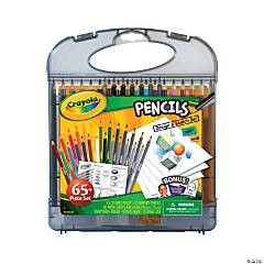 25-Color Crayola® Pencil Design & Sketch Kit