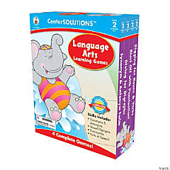 2nd Grade Language Arts Learning Games Set