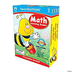 2nd Grade Math Learning Games Set