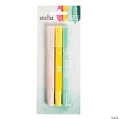 3-Color American Crafts™ Pastel Gel Crayons