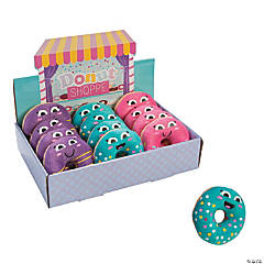 "3"" Donut Sprinkles Plush Donuts with Box"