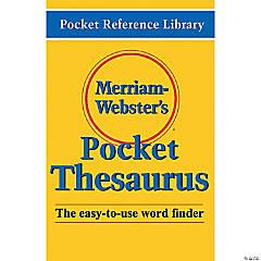 (3 Ea) Merriam Websters Pocket