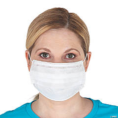 3-Layer Disposable Face Covers - 50 Pc.
