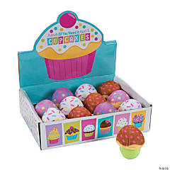 "3"" Mini Plush Cupcakes with Box"