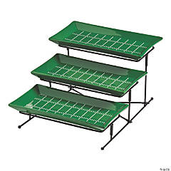 3-Tier Football Serving Set