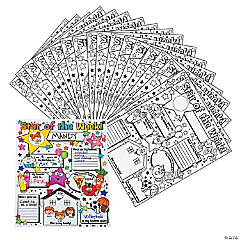 30 Color Your Own!