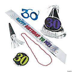 30th Birthday Celebration Party Kit