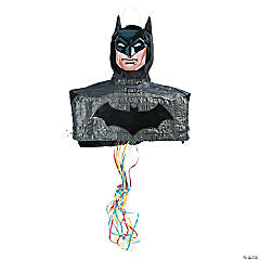 3D Batman Pull-String Piñata