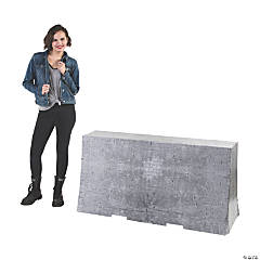 3D Concrete Barricade Stand-Up