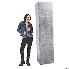 3D Concrete Column Pillar Stand-Up