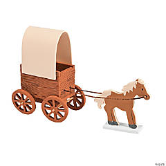 3D Covered Wagon Craft Kit