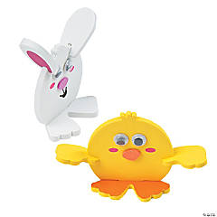 3D Easter Characters Craft Kit