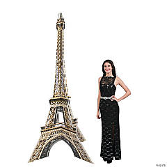 3D Eiffel Tower Stand-Up