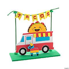 3D Fiesta Taco Truck Scene Craft Kit