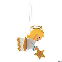 3D Hanging Angel Ornament Craft Kit