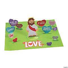 3D Jesus' Love Sticker Scenes