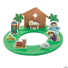 3D Journey to Bethlehem Stand-Up Craft Kit
