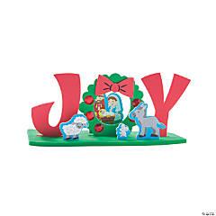 3D Joy Nativity Craft Kit