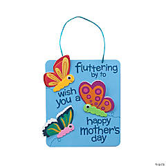 3D Mother's Day Butterfly Sign Craft Kit