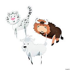 3D Mountain Animals