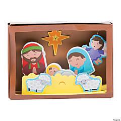 3D Nativity Stable Box Craft Kit