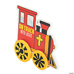 3D on the Right Track with Jesus Train Craft Kit