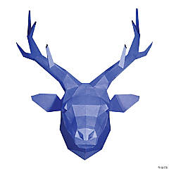 3D Papercraft Wall Art - Deer Head