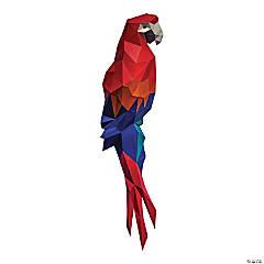 3D Papercraft Wall Art - Macaw