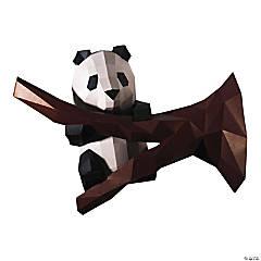 3D Papercraft Wall Art - Panda