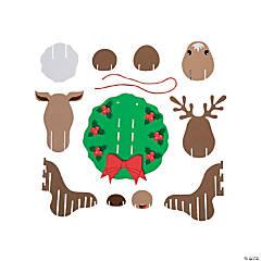Christmas Doorknob Hanger Crafts Oriental Trading