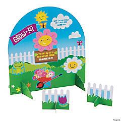3D Religious Spring Garden Sticker Scenes
