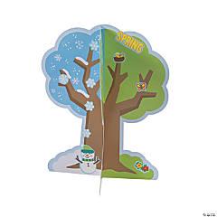 3D Seasons of Faith Tree Sticker Scenes