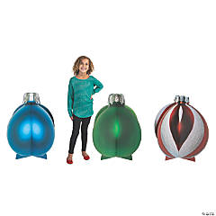 3D Slotted Christmas Ornament Stand-Ups