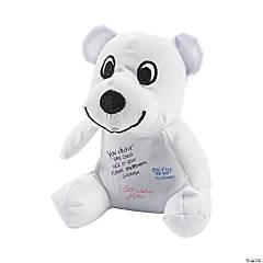 "4.5"" Mini Autograph Stuffed Bears"