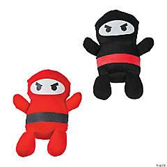 """4.5"""" Ninja Plush Characters"""