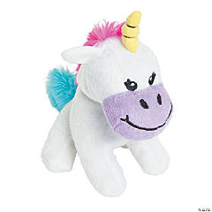 "4.5"" Stuffed Unicorns"