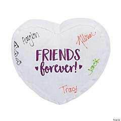 "4.75"" Mini Autograph Friends Forever Plush Hearts"