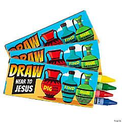 4-Color Dig VBS Crayons