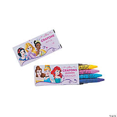 4-Color Disney Princess Dream Crayons - 12 Boxes
