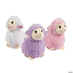 "4"" Easter Soft Stuffed Lambs"