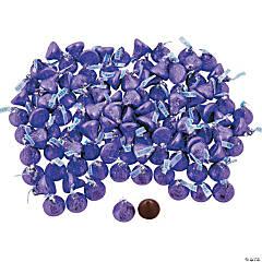4 lb Bulk Purple Hershey's® Kisses®