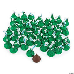 4 lb Hershey's® Kisses® Green Milk Chocolate Candy